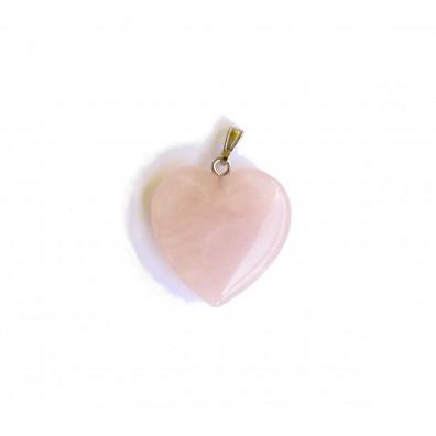 Přívěšek srdíčko - růženín