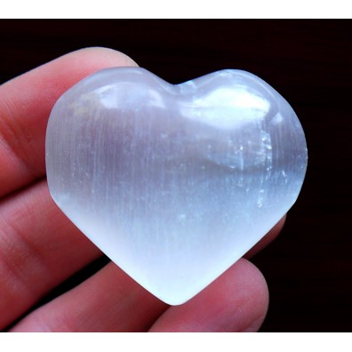 Selenite - small heart