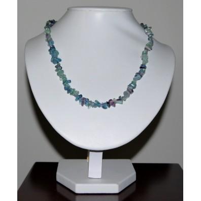 Necklace fluorite 45 cm