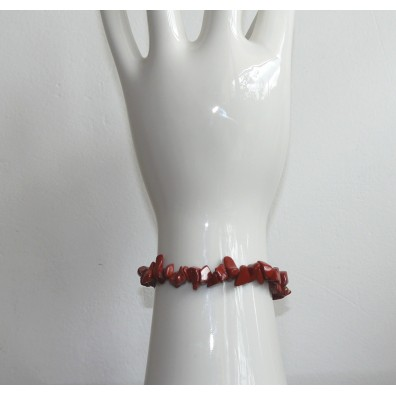 Bracelet - red jasper