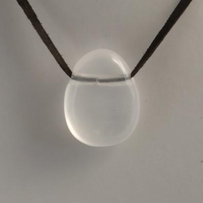 Drilled pendant - girasol