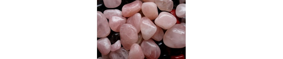 Rose quartz - tumbled