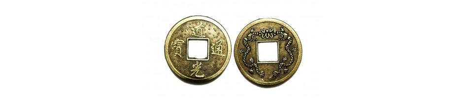Čínské mince pro štěstí